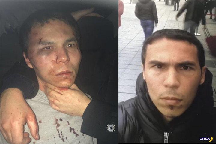 """Турецкие спецслужбы взяли новогоднего """"стрелка"""""""