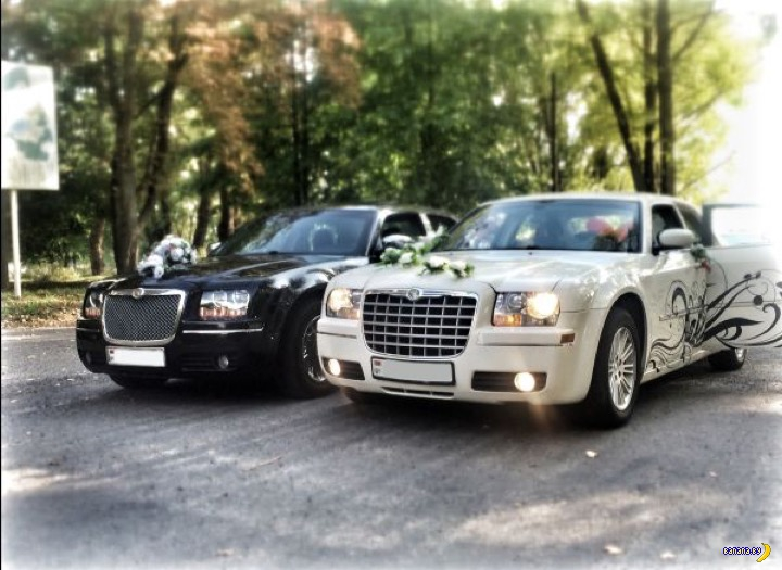 Автомобили для свадеб