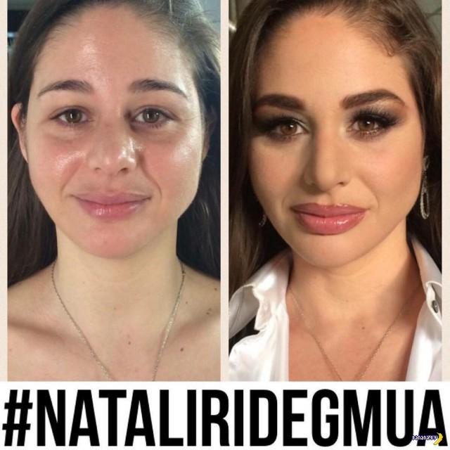 Европейские порноактрисы до и после макияжа