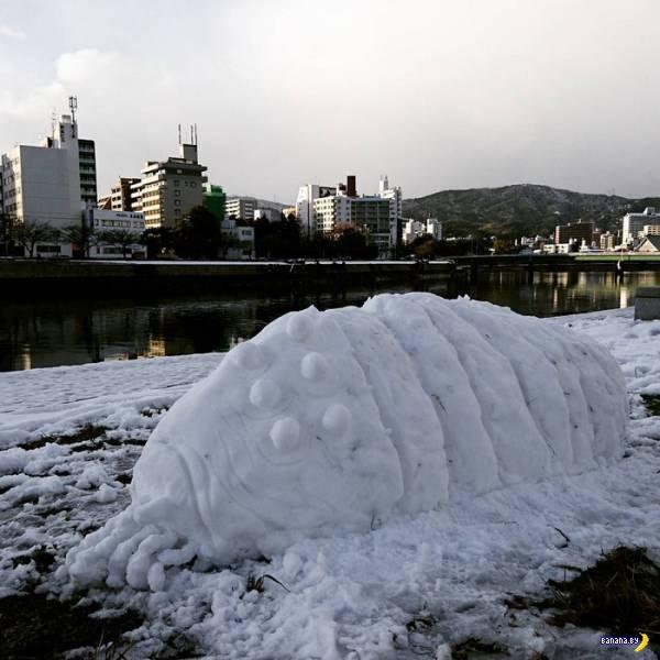 Японские снеговики