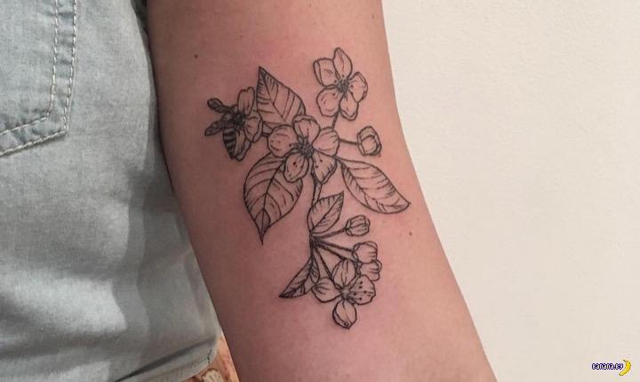 Веганские татуировки