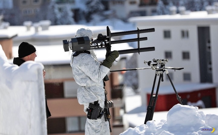 Швейцарские убийцы дронов
