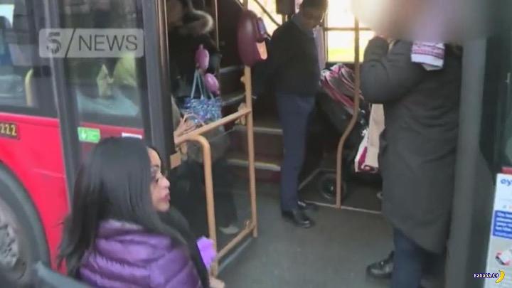 Битва колясок за место в автобусе