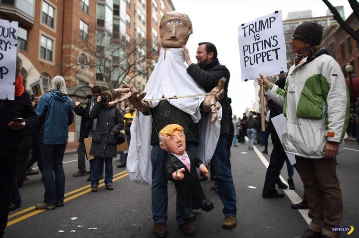 Инаугурация Дональда Трампа и разбитые носы