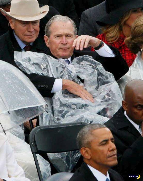 Джордж Буш младший не меняется