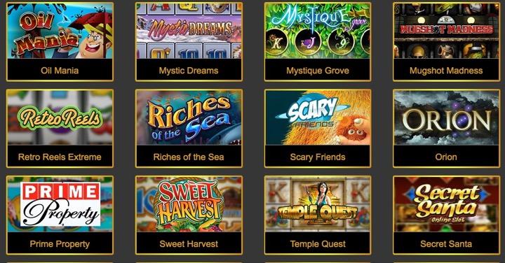 Эталонные игровые автоматы в Интернете