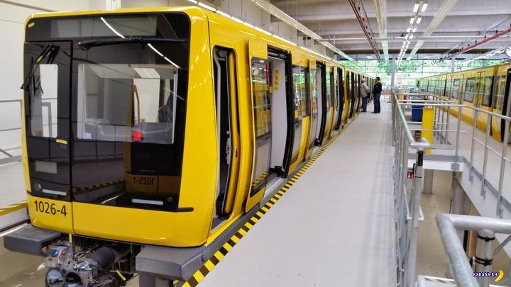 В Минском метро будут бегать поезда Stadler