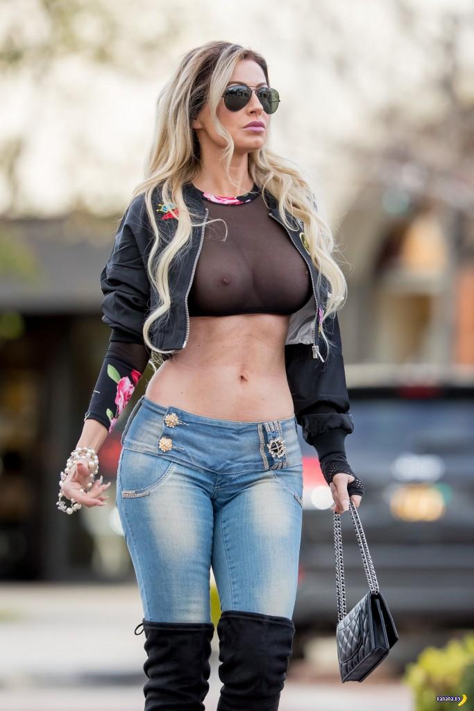 Ана Брага и уличная мода