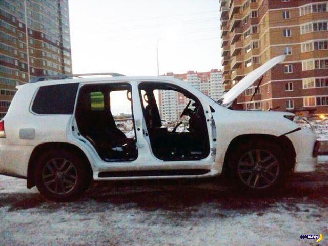 Чемпионат Ростова по разборке Лексусов