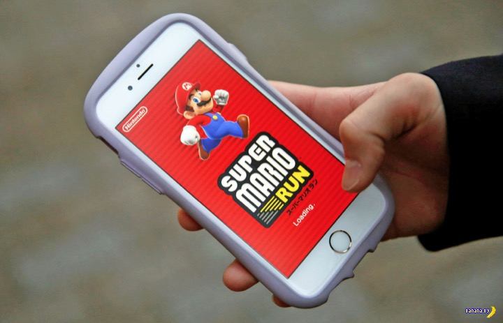 Простенькая игра Super Mario Run зарабатывает миллионы