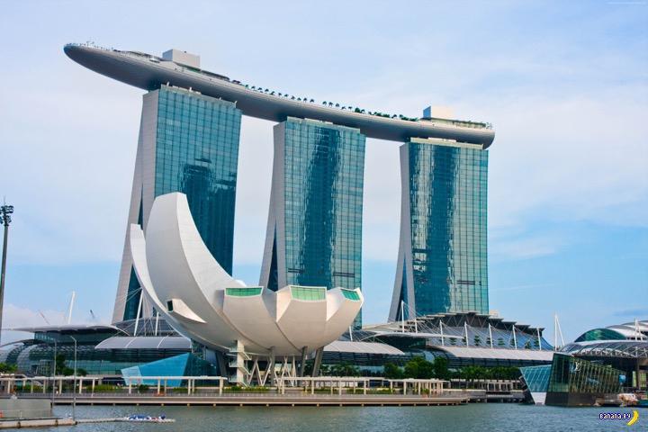 Marina Bay Sands - самое красивое казино в мире