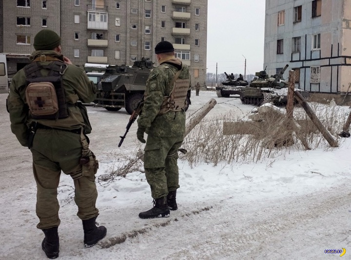Авдеевка и Донецк сейчас