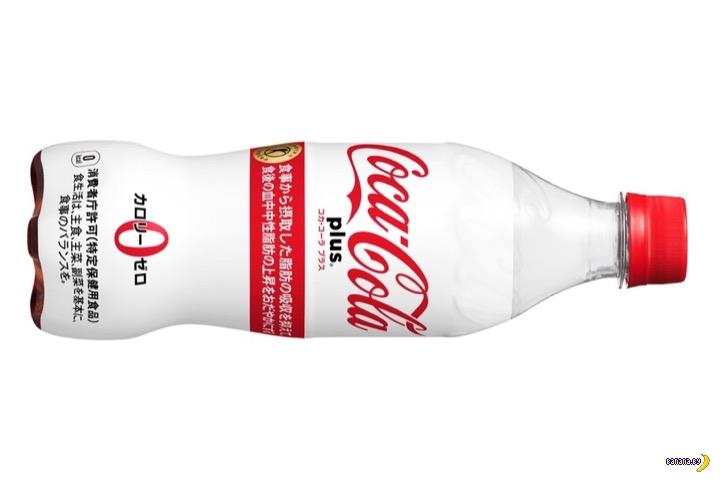 В Японии появилась полезная Coca-Cola
