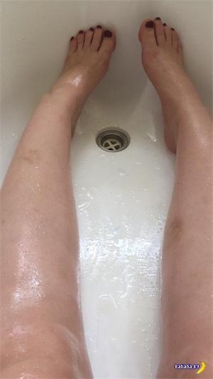 Застряла в ванне, чудом спаслась