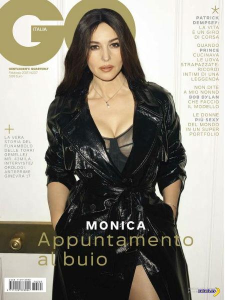 Моника Белуччи для GQ Италия