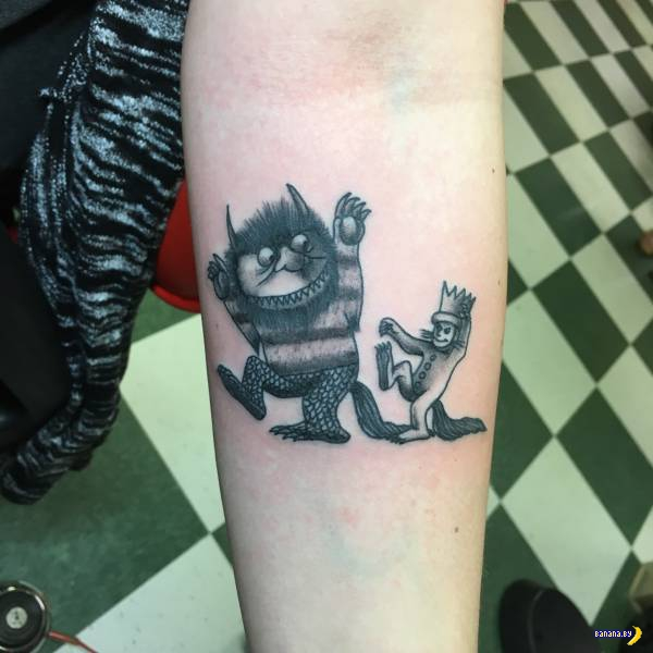 Татуировки на зависть - 80