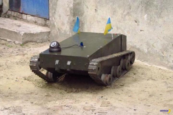 Прогресс украинских военных роботов