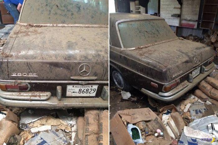 Амбарная находка –1972 Mercedes-Benz 280SE