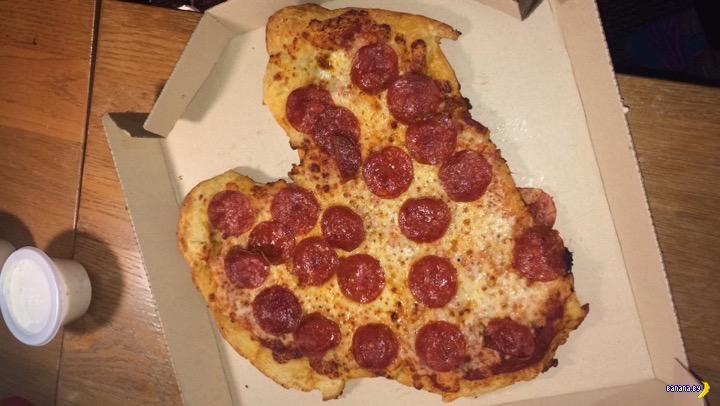 Пицца и сердце