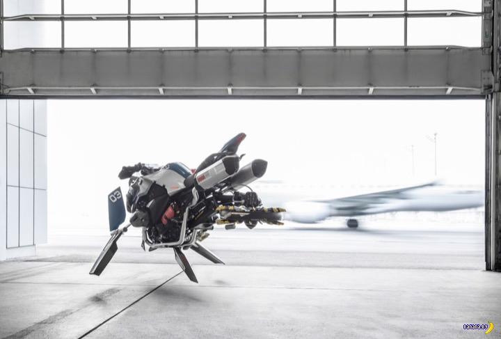 BMW Hover Ride - летающий мотоцикл
