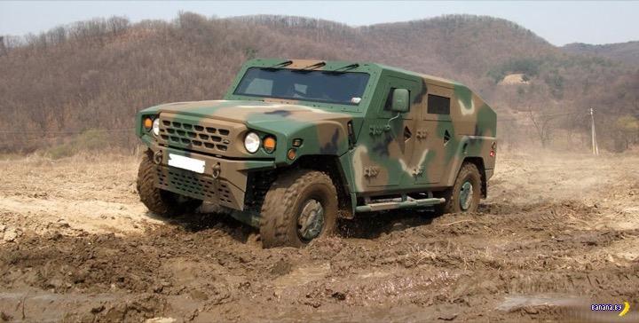 Армейский бронеавтомобиль от Kia