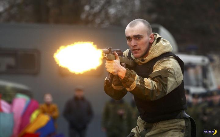 Масленица и белорусский спецназ