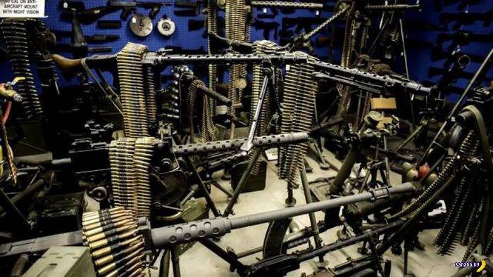 Еще раз про оружие в США