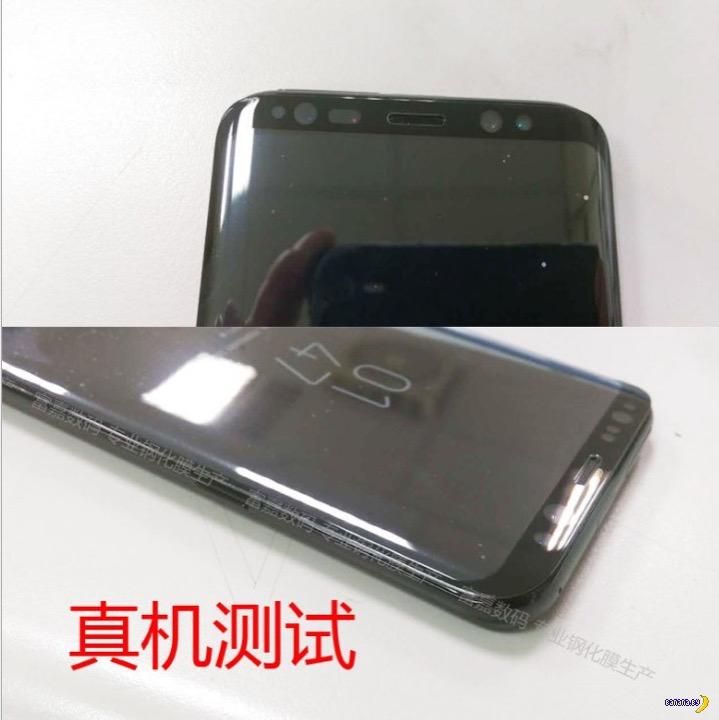 Утечка фотографий Samsung Galaxy S8