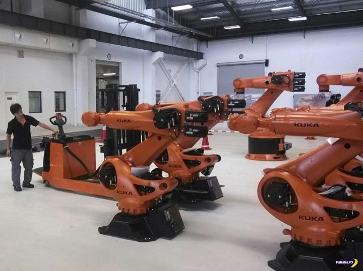 Роботы наступают! На примере китайской фабрики