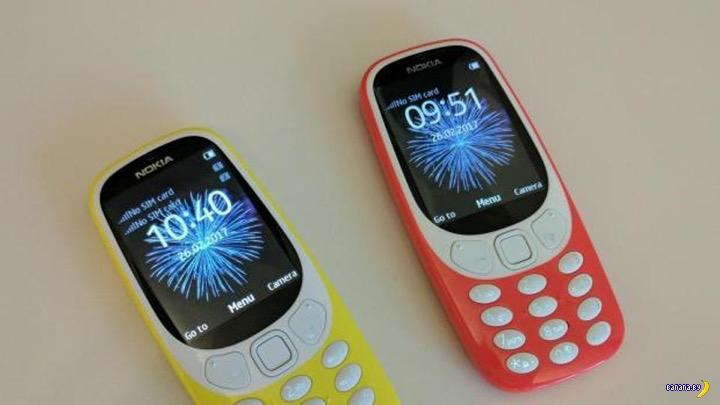 Вот она, новая старая Nokia 3310!