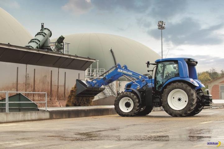Трактор New Holland на метане
