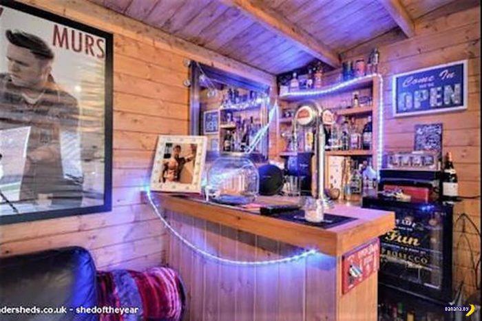 Сарайчики-бары против mancaves