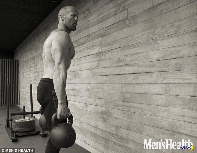 Джейсон Стейтем для Men's Health
