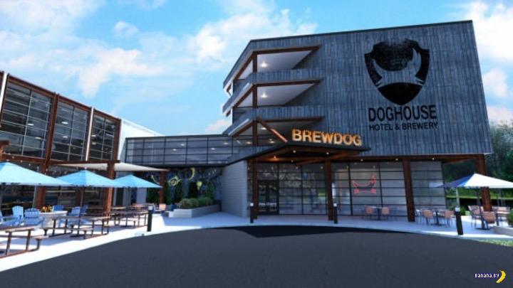 Пивоварня BrewDog построит пивной отель