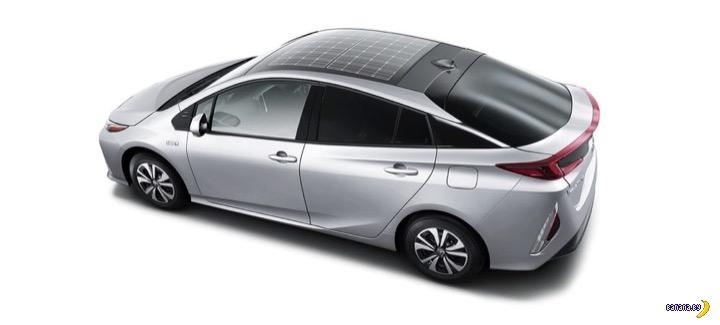 Panasonic сделал крышу-батарею для Prius