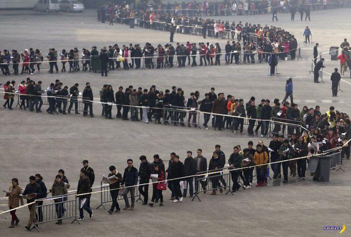 Тесный Китай