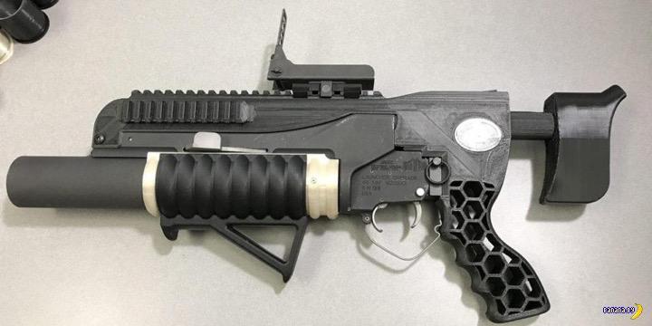 R.A.M.B.O - самодельный гранатомёт