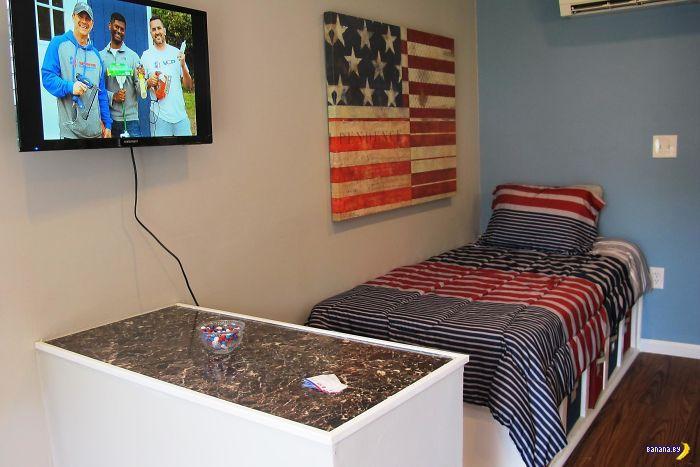 Домики для американских ветеранов