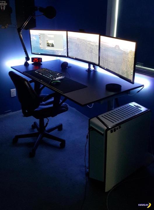 Крутые рабочие компьютерные места