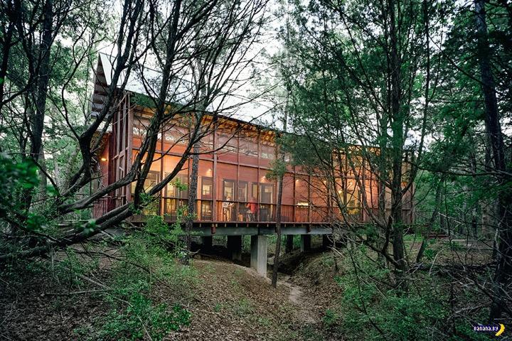 Странный формат загородного дома