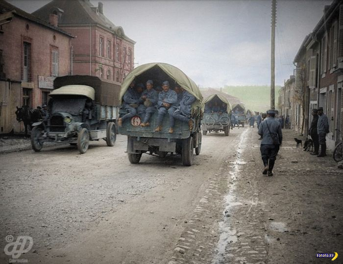 Цветные фото Первой Мировой