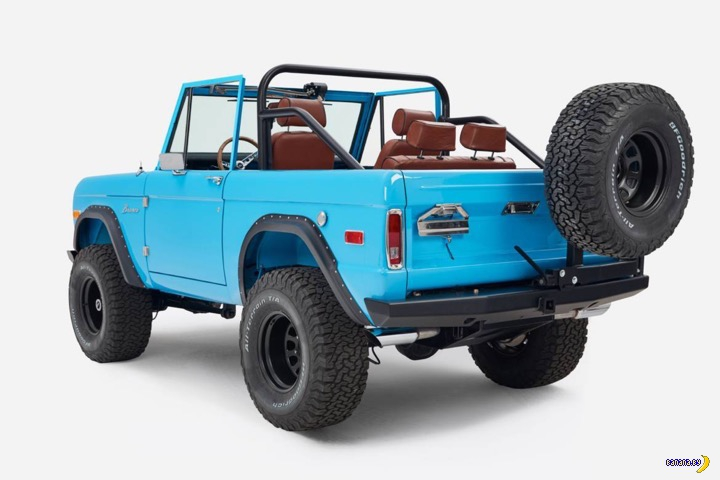 Ford Bronco - любимая машина Америки