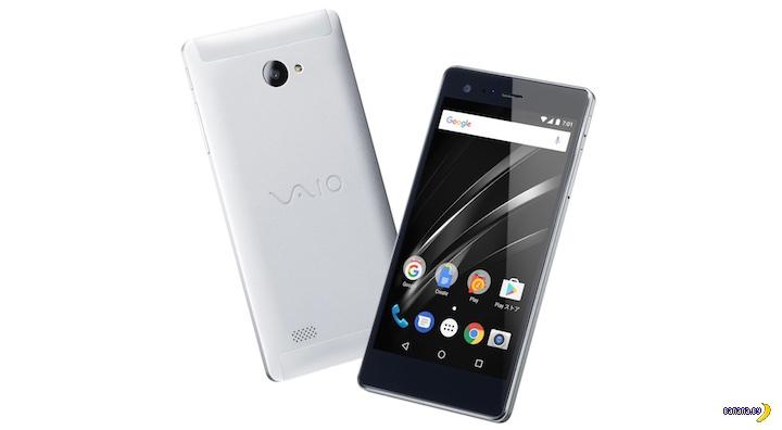 Новый смартфон VAIO