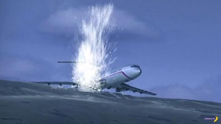 Причины падения Ту-154 в Черное море