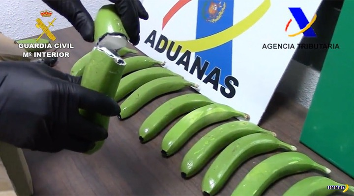 Волшебные бананы будут уничтожены в Испании