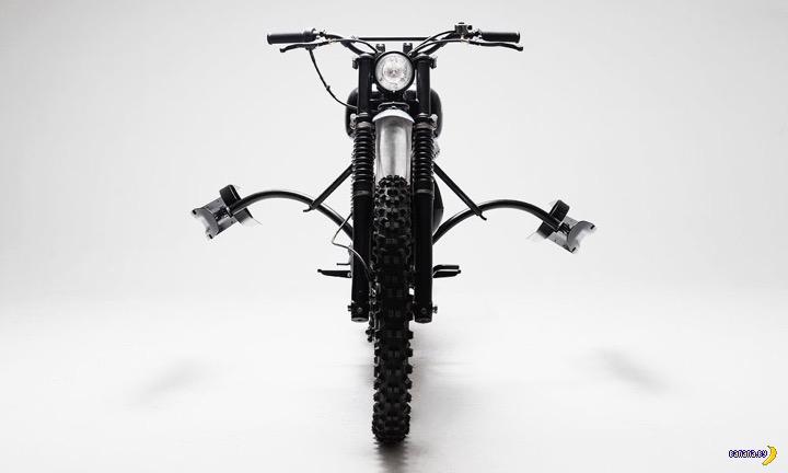 Мотоцикл с лыжами и его перерождение