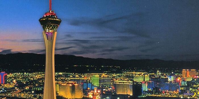 Легендарное казино Stratosphere в Вегасе