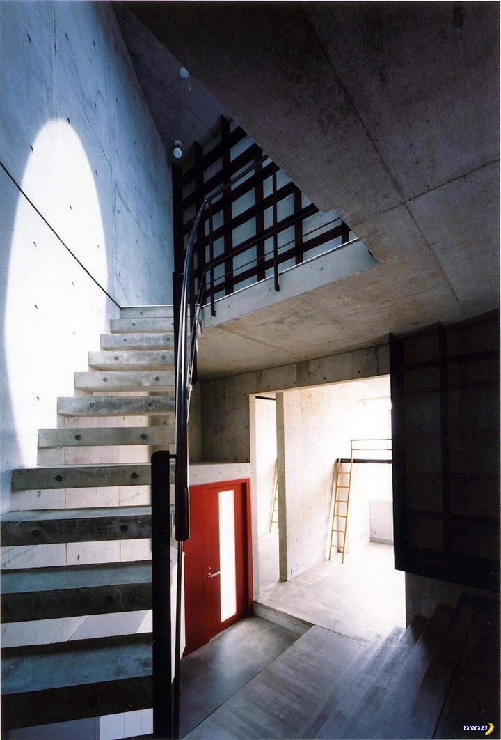 Японский полукруглый дом