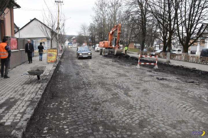 Новое слово в ремонте дорожного покрытия