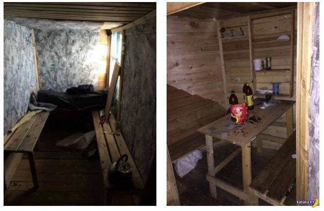 Омские школьник построили себе бар